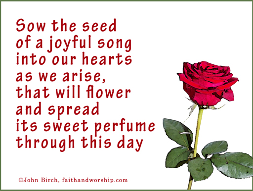 prayer, sow, seed, hearts, flower, perfume